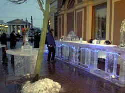 Ice Bar next to the St. Petersburg Grand Hotel Europa