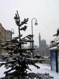 Photo of Winter in St. Petersburg (with Muslim mosque)