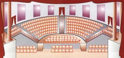 Teatro del hermitage de san petersburgo rusia for Plan de la sala de 40m2