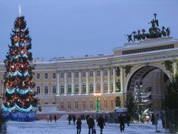 Palace Square and a General Headquarters of Russian Army